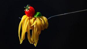 fototapety do kuchni - spaghetti